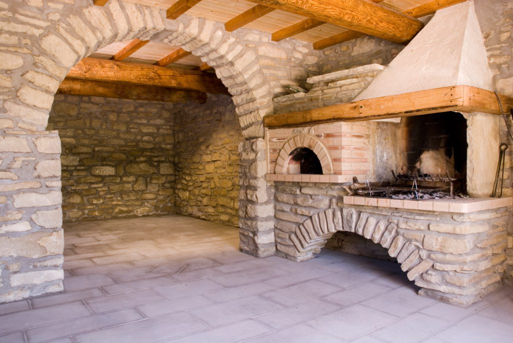 Arredamenti di pietra serena di piancaldoli firenze for Idee archi interni