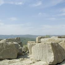 Cava di Pietra Serena a Piancaldoli
