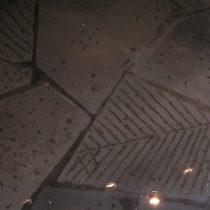 Pavimento decorativo in pietra serena